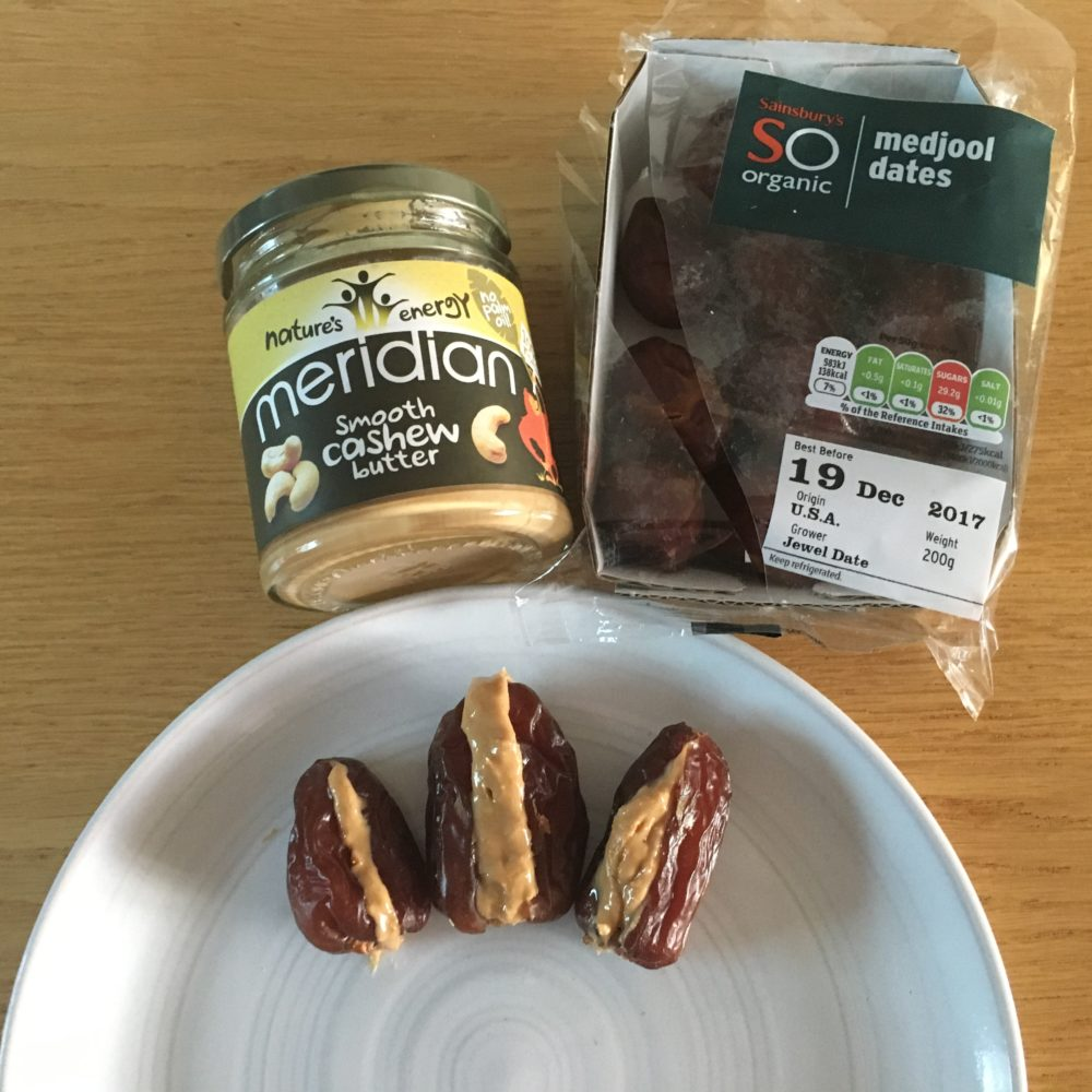 Healthy Medjool Dates & Nut Butter – To Get You Through The 3pm Slump